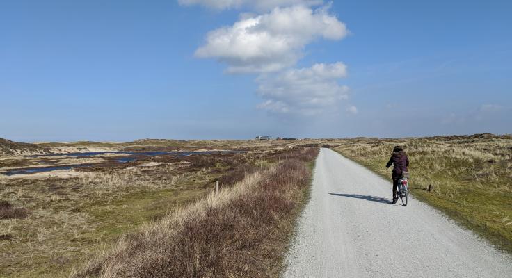 Fietsen Op Terschelling naar Goudberg.nl
